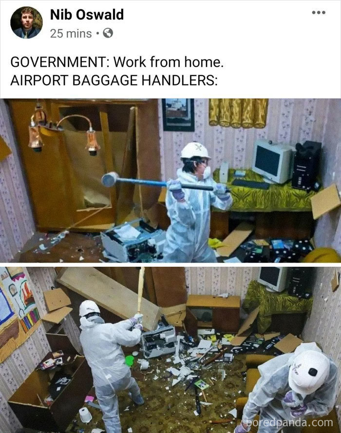 Government: Work From Home