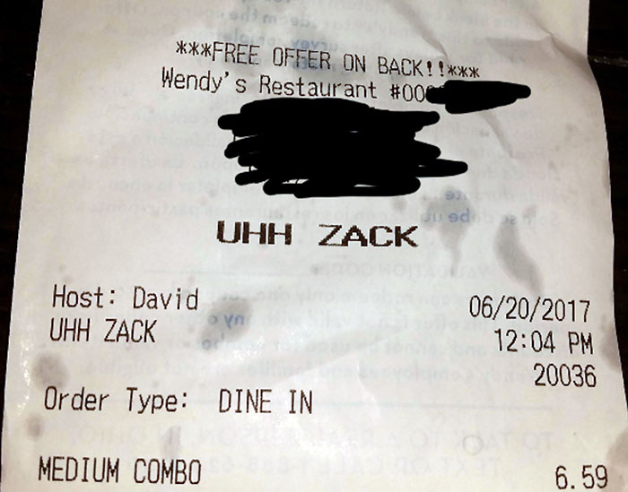 Don't Hesitate When Telling David Your Name