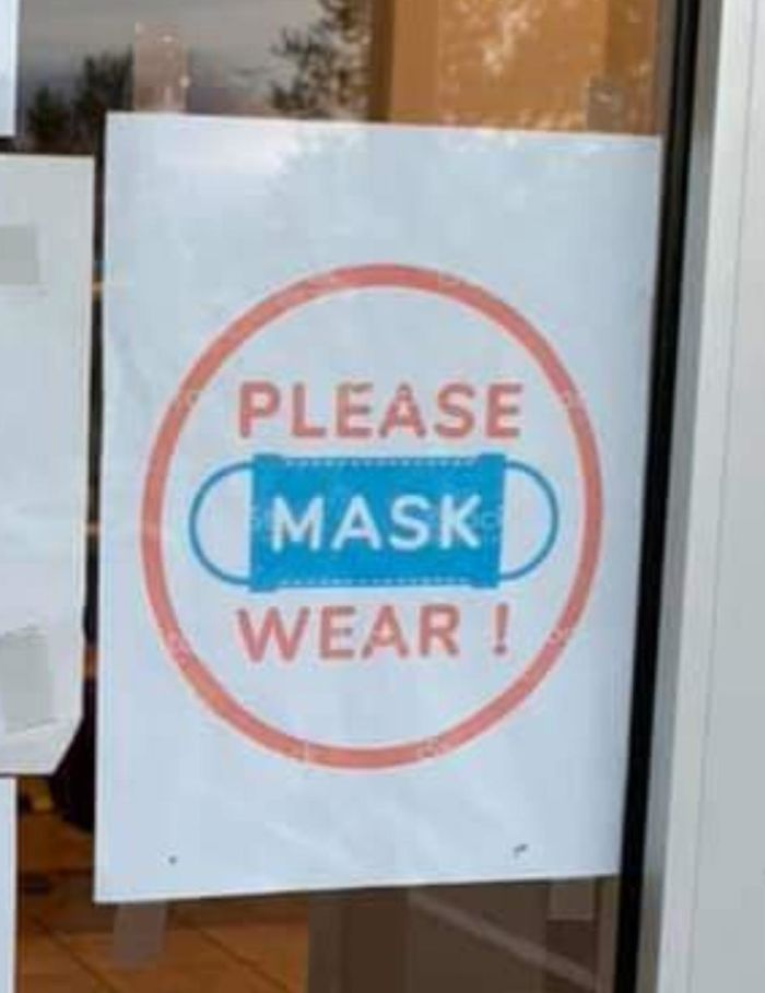 Please Mask Wear