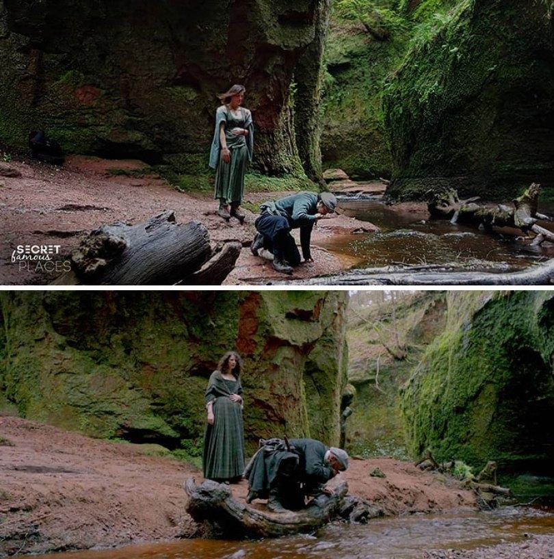Outlander / púlpito do diabo, Escócia