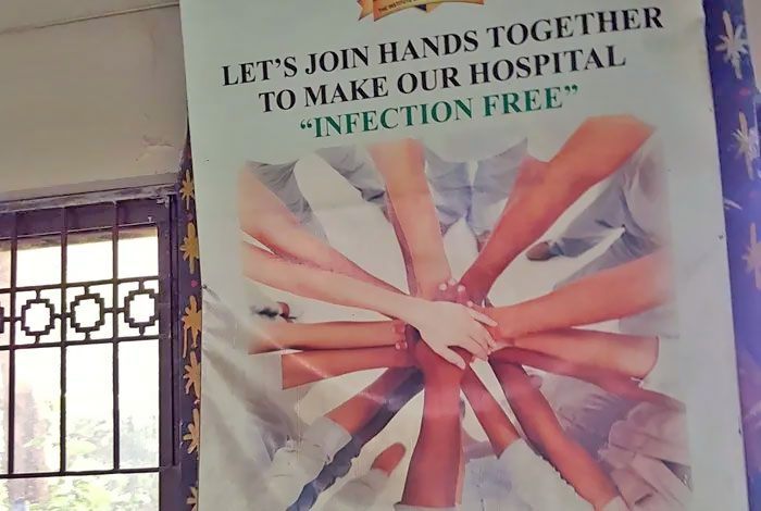 """""""Join Hands"""" To Make Hospitals """"Infection Free"""""""
