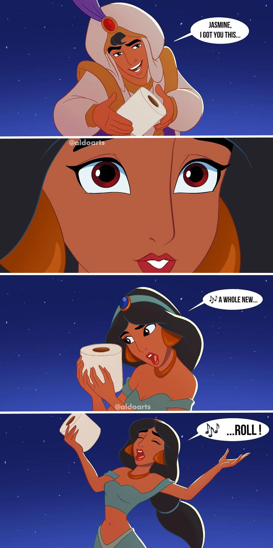 Disney-Comics-Coronavirus-Memes-Aldoarts