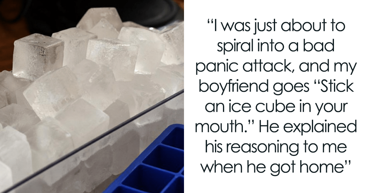 Guy Discovers An Interesting Way To Prevent His GF's Panic Attacks – By Putting An Ice Cube Into Her Mouth