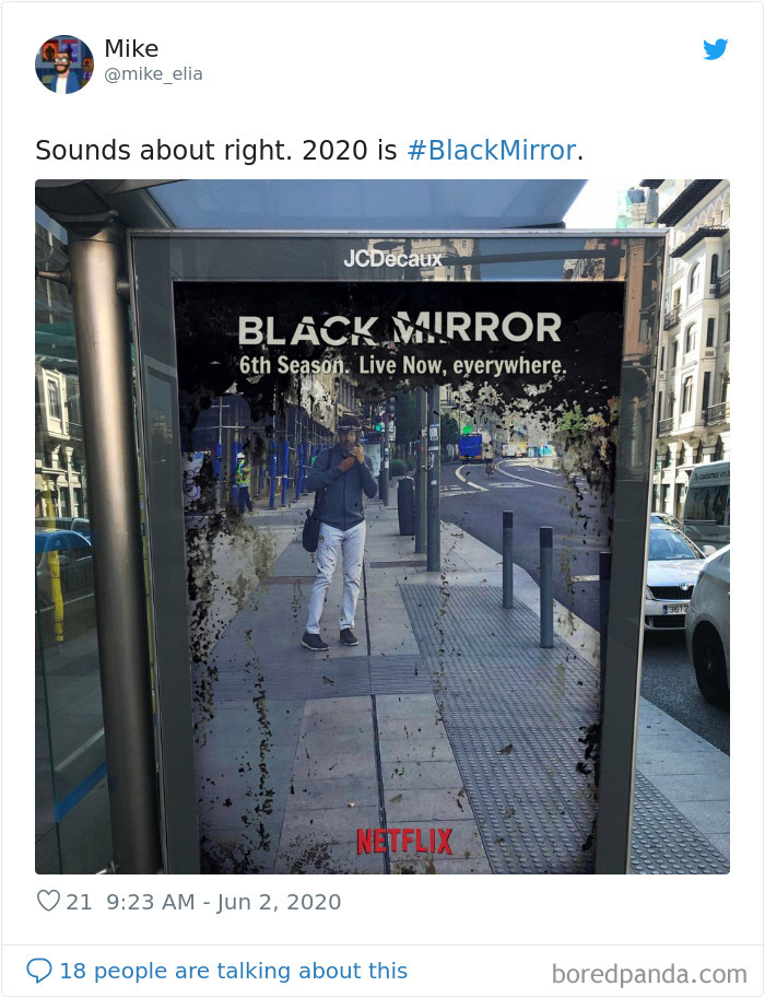 Netflix Ad States Black Mirrors Season 6 is Reality And It All Makes Sense Now