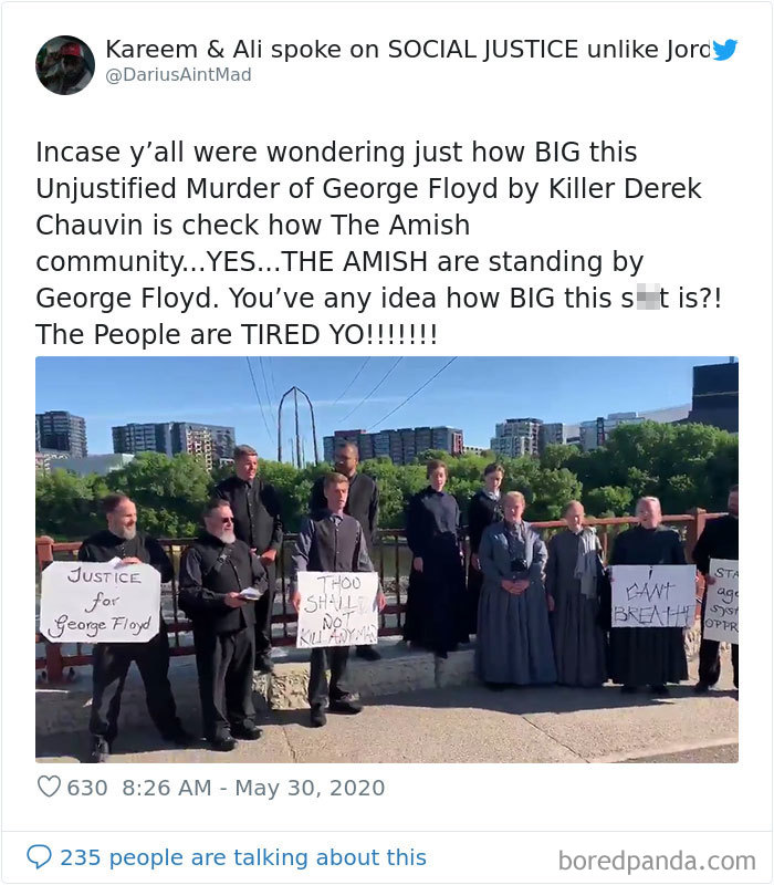 Even The 'Church Of God' Community Are Standing By George