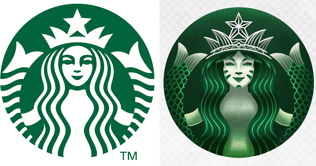 Artist Redesigns Popular Logos In Different Styles