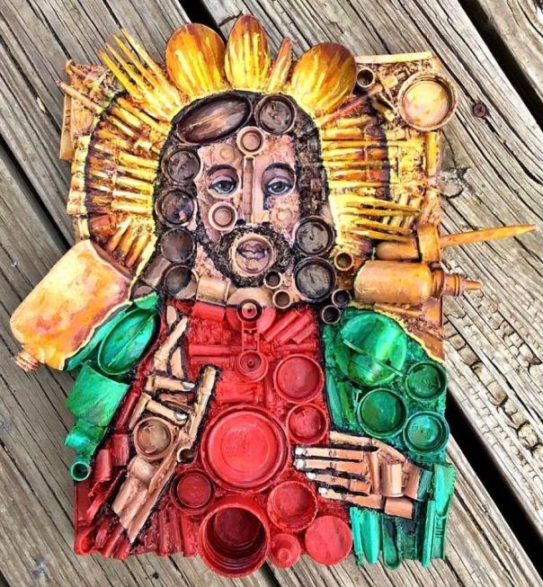 Plastic Crap Jesus