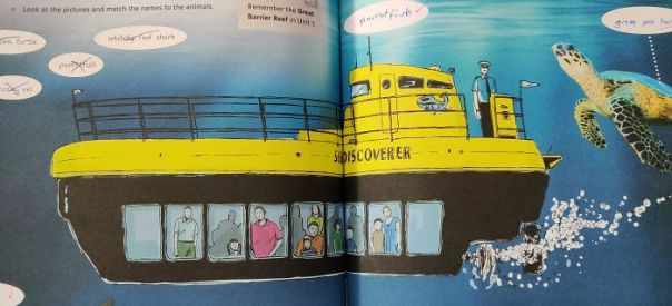 This Captain Of The Submarine In My English Book