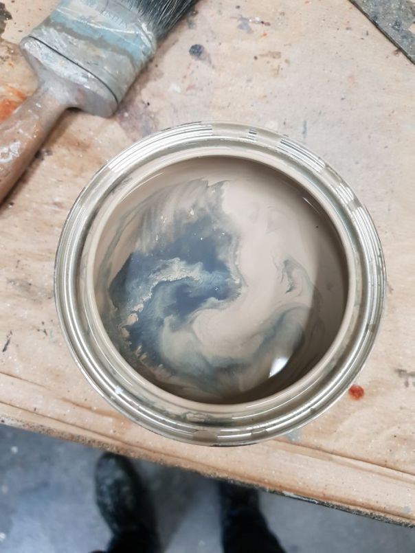 This Can Of Paint Looks Like A Cat