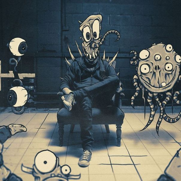 Artist Makes Fun Images That Show What Life With Monsters Would Be Like (190 Pics)