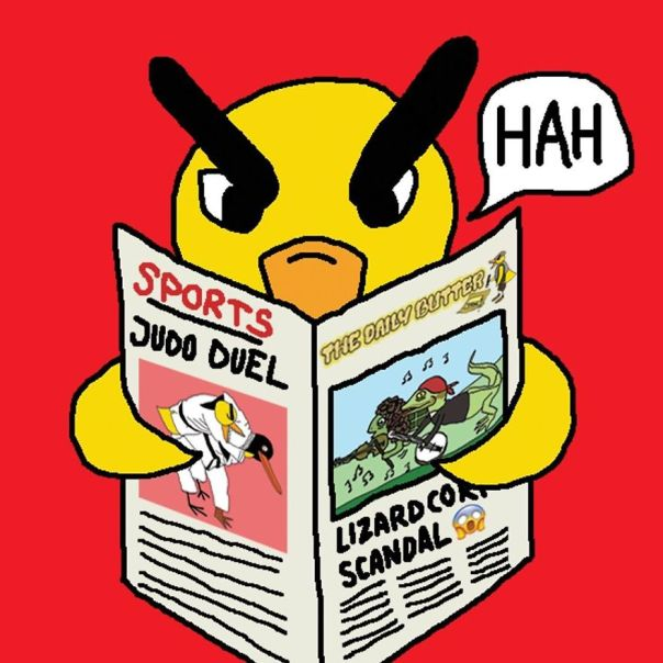Read The Daily Butter Lately? About The Lizardcorp Scandal? Or About The Thrilling Judo Duel For That Case?
