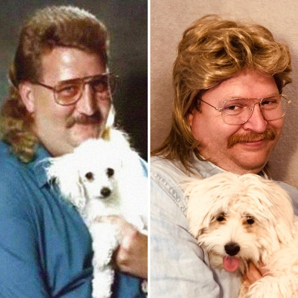 Perve Or 80's Dog Lover?