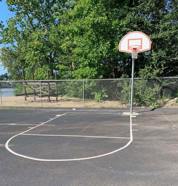 Went To The Park To Shoot Some Hoops Today...