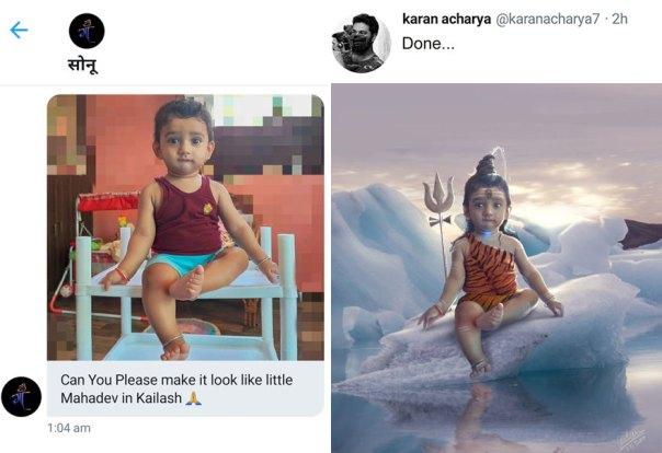 Artist-Edits-People-Photo-Mythological-Characters-Karan-Acharya