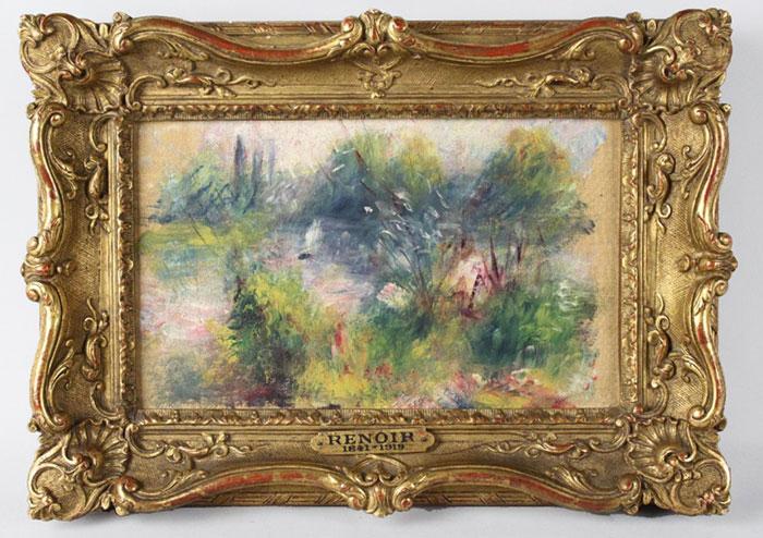 Pierre-Auguste Renoir paintingworth 50K