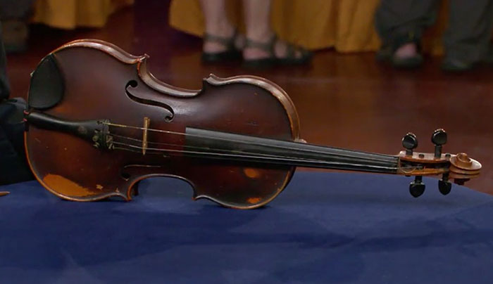 Giuseppe Pedrazzini violinworth $50K