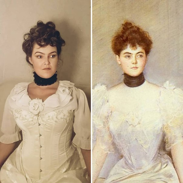 "Paul Cesar Helleu ""Portrait Of Lady With A Fan"" (~1900)"