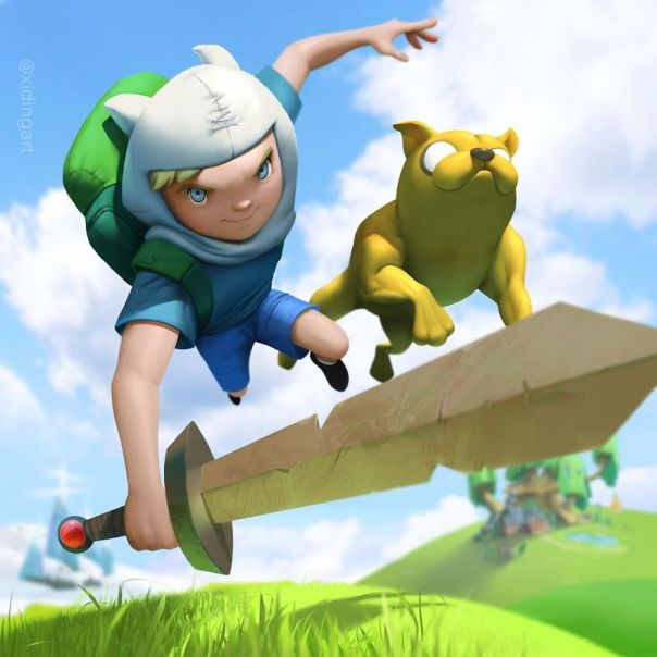 Adventure Time (Finn And Jake)