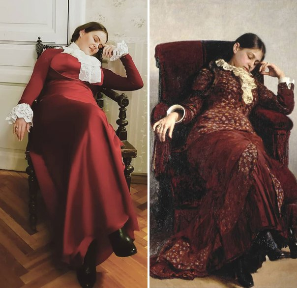"Ilya Repin ""Leisure"" (1882)"