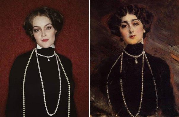 "Giovanni Boldini ""Portrait Of Lina Cavalieri"" (1901)"
