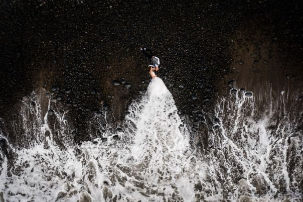 Wedding Category Highly Commended: Pebble / Wave