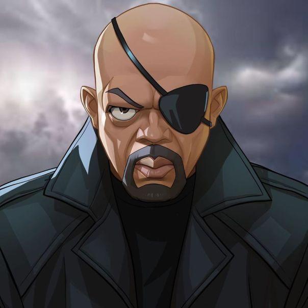 Samuel L. Jackson (Nick Fury)