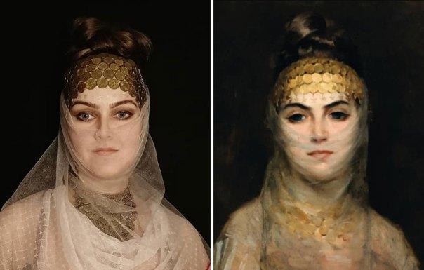 """Theodoros Rallis """"Odalisque"""" (~1900)"""
