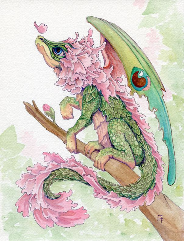 Cherry Blossom Dragon