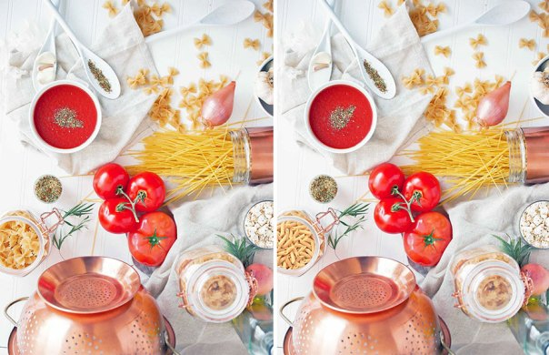 Cuisine (10 Differences)