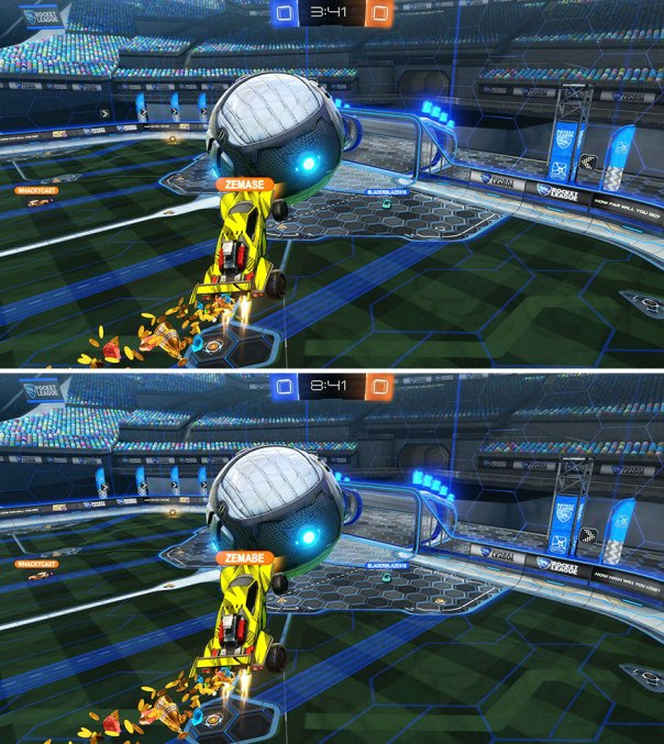 """Rocket League"" (11 Differences)"