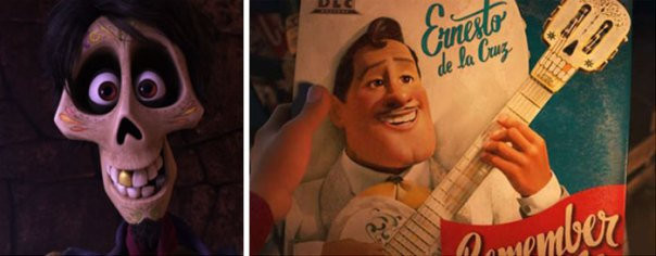 Both Héctor And The Guitar Have A Gold Tooth, Foreshadowing The Twist That The Guitar Wasn't De La Cruz's At All