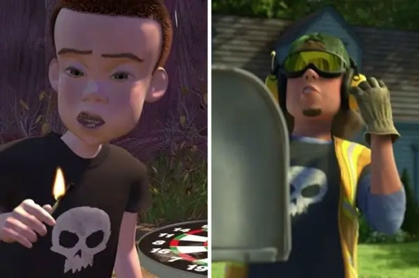 Sid Makes An Appearance In Toy Story 3, Showing That He Got A Job As A Garbage Collector