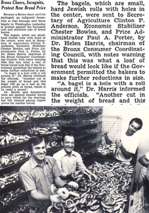 On Bagels, 1946