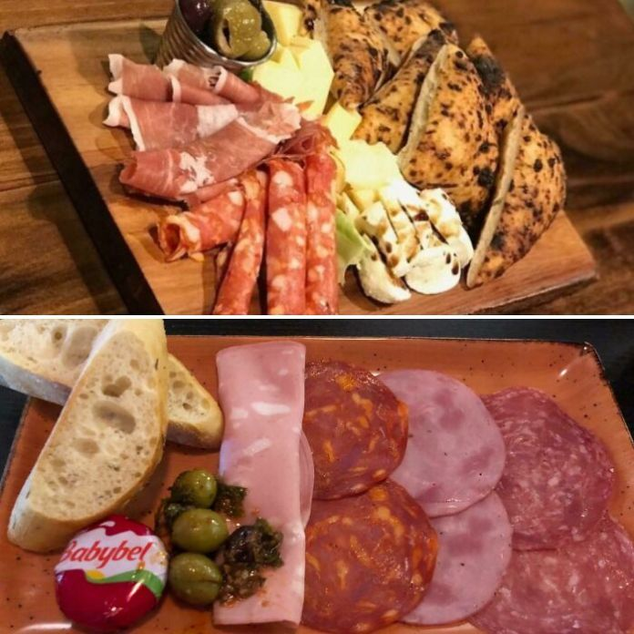 Restaurant's Charcuterie Board As Advertised vs. What I Got