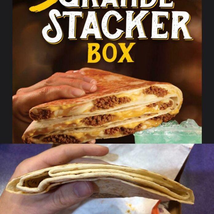 Taco Bell's Grande Stacker Box