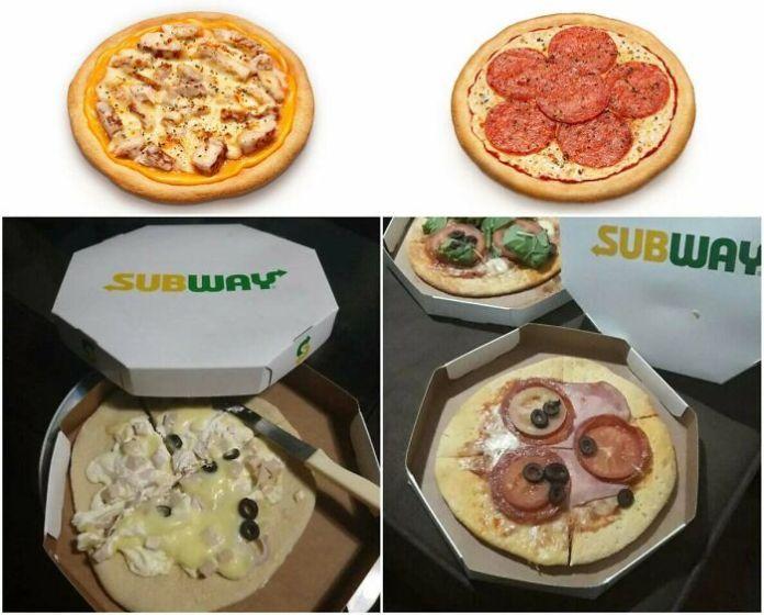 Subway Pizza