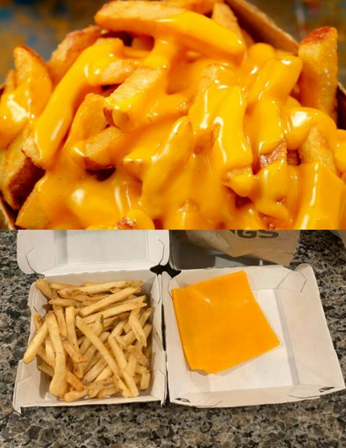 Cheese Fries From Buffalo Wild Wings
