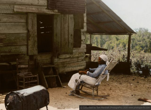 Kolorizirane fotografije kao prikaz strave robova u SAD-u 10