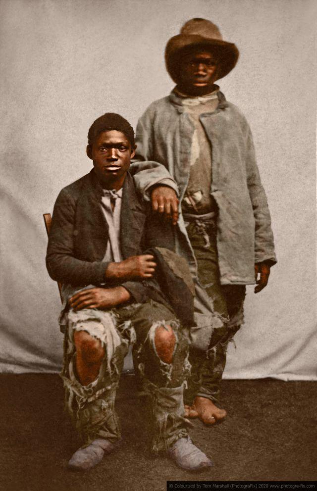 Kolorizirane fotografije kao prikaz strave robova u SAD-u 2