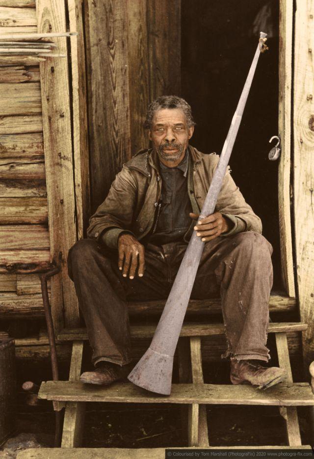 Kolorizirane fotografije kao prikaz strave robova u SAD-u 3