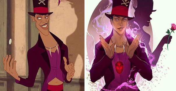 Dr. Facilier, A.k.a. Shadow Man (The Princess And The Frog)