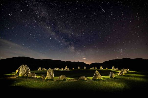 Your View Commended: Gary Waidson, 'Castlerigg Circle Of Light', Cumbria
