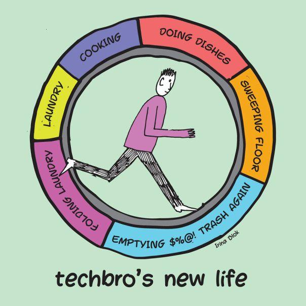 Techbro's New Life