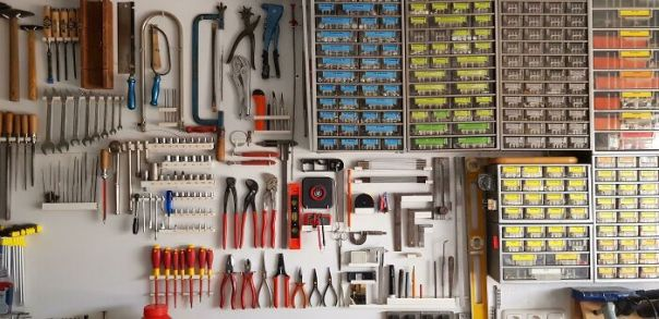 My Granddad's Tool Collection In His Shed