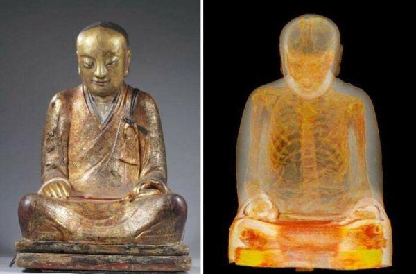 Ct Scan Of 1,000-Year-Old Buddha Sculpture Reveals Mummified Monk Hidden Inside
