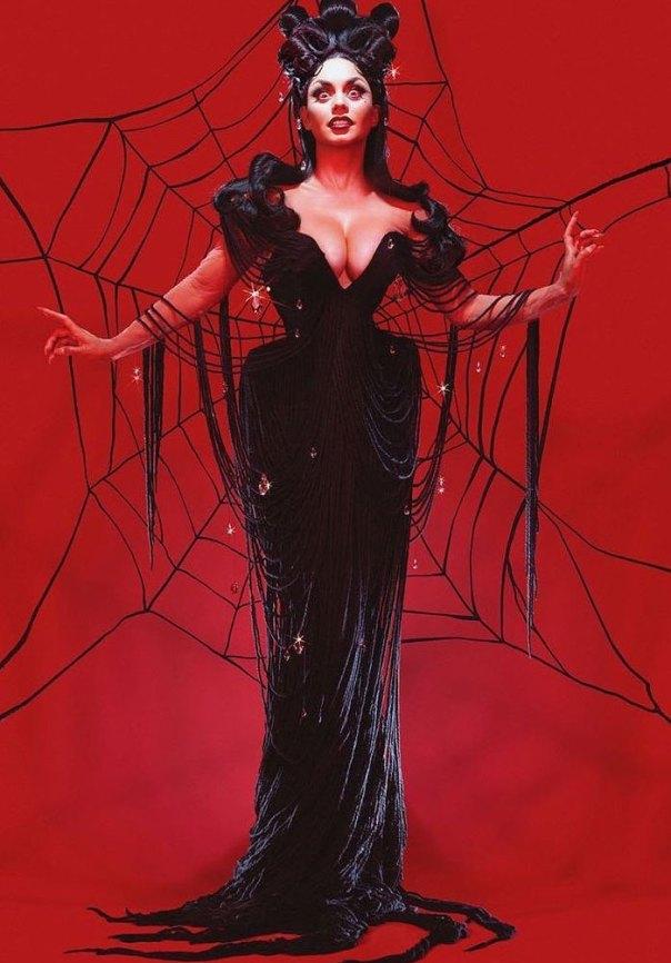 Vanessa Hudgens As The Black Widow