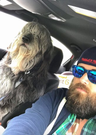 This Is Ben. He Has A Beard. And He Is Human-Sized. We Get Fun Looks In Traffic