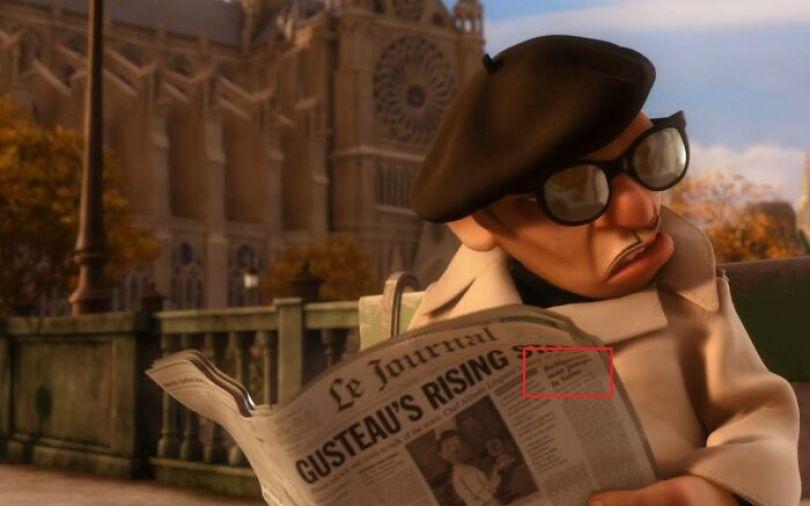 10 5fc646afad25d  700 - Os impecáveis detalhes da Pixar: Todos os ''easter eggs'' de Rattatouille