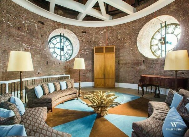 NYC Apartment Converted From A Clock Tower Circa 1905