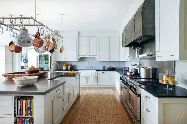 A Modest Kitchen In This Humble Southampton, NY Home